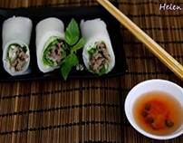 cách làm Phở Cuốn ngon đúng điệu – Fresh Rice Noodle Ro