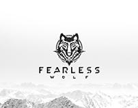 Fearless Wolf  - Brand design