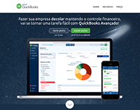 Intuit QuickBooks - Landing Page Concept