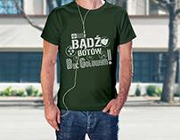 Projekt serii koszulek Bądź Gotów!
