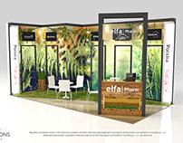 Elfa Pharm stand design