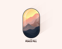Peace Pill Illustration