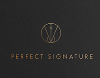 Perfect Signature — logo design