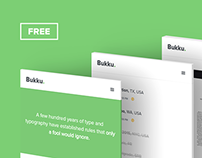 Bukku - Free HTML/CSS Book/eBook Template