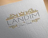 Criação de Logo Landim Hair Studio