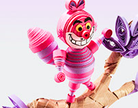 Paper Art Quilling The Cheshire Cat