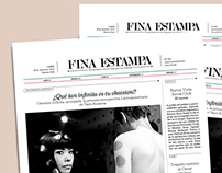 FINA ESTAMPA | Newspaper