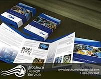 Business Tri-Fold Brochure Design