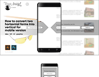 short UX for mobile version