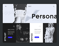 Looks brand identity - personal shopper app