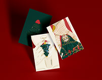 Christmas time - illustrations