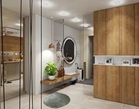 Kitchen & Vestibule
