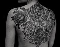 Ornamental tattoo project