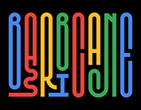 SK Barbicane Typeface