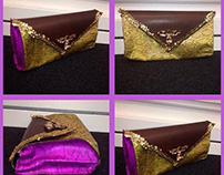 Lakers Inspired Clutch