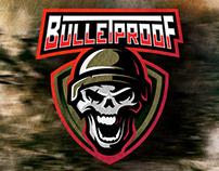 FOR SALE. Skull in helmet. Esports logo mascot