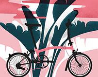 Ilustraciones para Brompton lovers