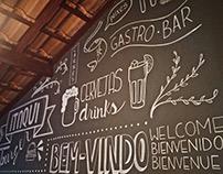 Chalklettering Itaqui Gastrobar, Parnaíba - PI.