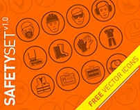 Safety icons. FREE