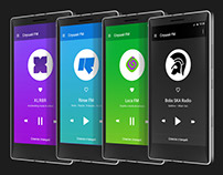 Listen FM — Mobile app for Android