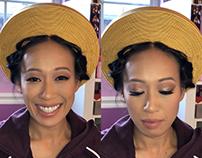 Thao + Bridesmaid - Tea Ceremony Makeup