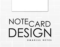 Andrew Randazzo Notecard Design