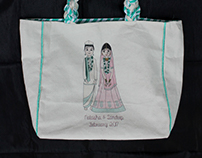 Handcrafted tote bags