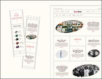 MusicWeek website redesign   News Website