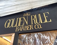 The Golden Rule Barber Co. Pop Up Store 2015
