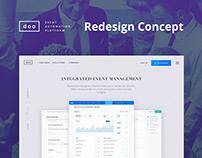 DOO | Redesign concept
