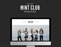 Mint Club Athletics Branding + Web Design