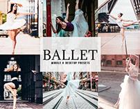 Free Ballet Mobile & Desktop Lightroom Presets