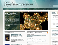 National Nanotechnology Initiative Website