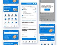 Contractor Assist | UI/UX 2020 mobile app design