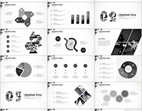Best gray business report PowerPoint template