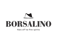 Logo design for Borsalino bar.