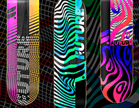 ARTWORKS for FOOTWORK SKATEBOARDS 2020