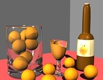 3D | Orange Juice