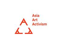 Asia Art Activism logo design