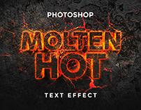 Free Molten Hot Text Effect