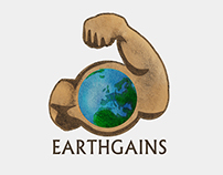 Earthgains Logo Design