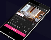 Bookmyhotel - Hotel Booking App Concept Design