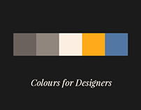 Colours for Designers
