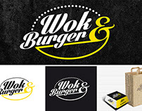Visual identity, branding and photography Wok&Burger