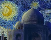 Starry Night in Taj