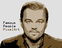 Famous People Pixel Art