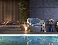 Resort swimming pool / Part 1