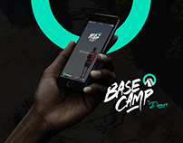 Base Camp Adventure App by Denver Creative - UI Design