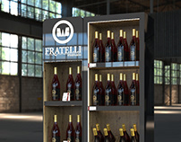 Fratelli Retail shelf