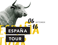 España Tour: Poster Design